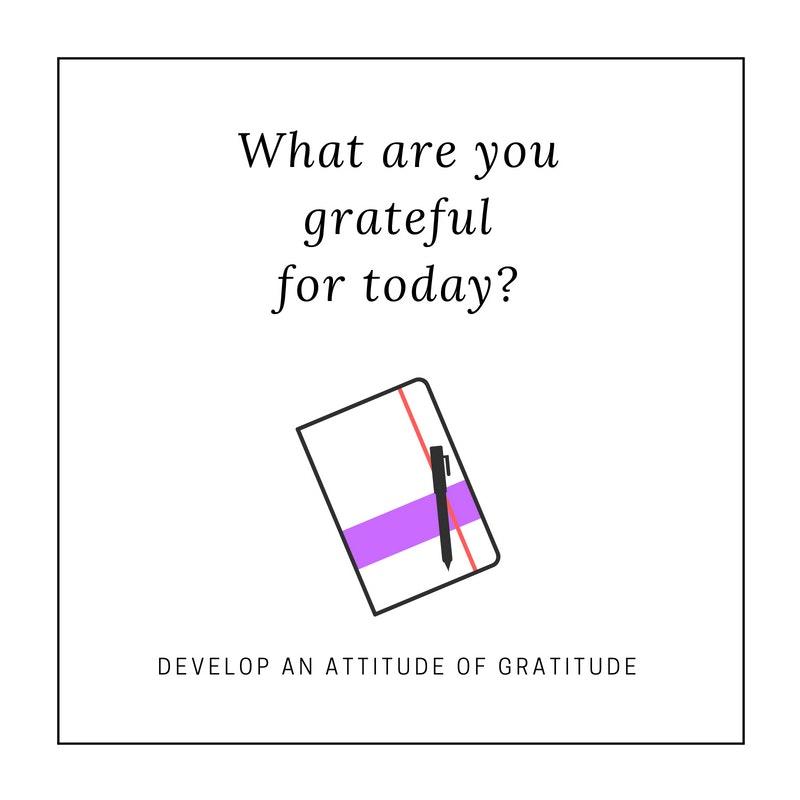 """An """"Attitude of Gratitude"""""""
